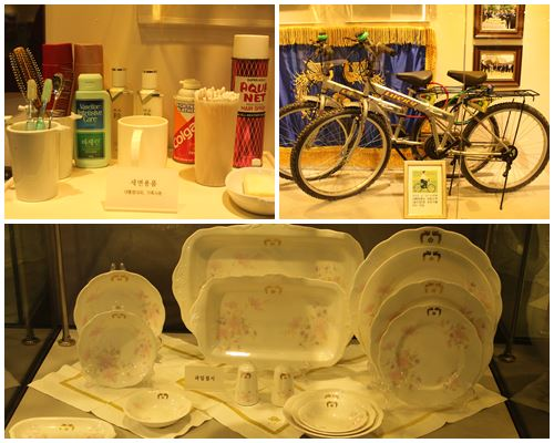 Toiletries, bikes and dining ware used by former presidents