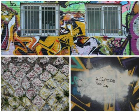 Street murals in Seoul - Hongdae