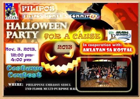 Halloween Party at the Philippine Embassy