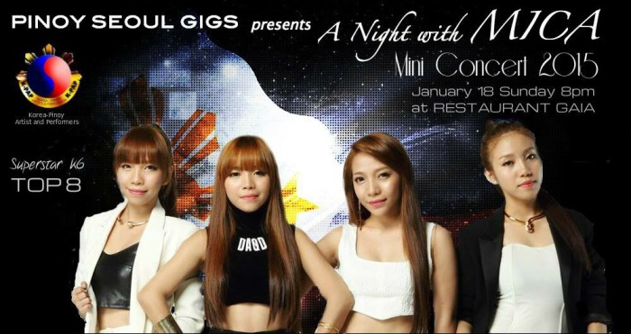 A Night with MICA ~ happening on January 18