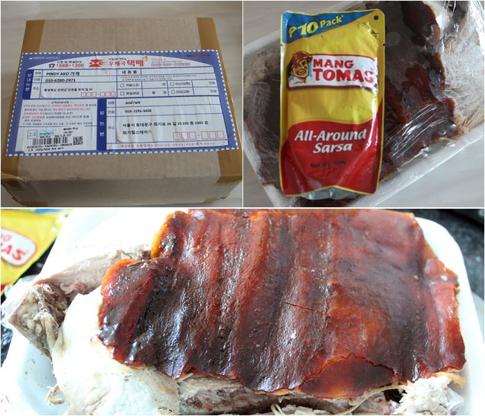My order from Pinoy Ako Lechon ~