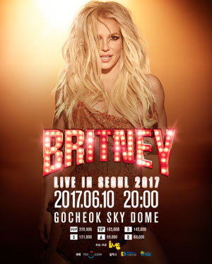 Britney Spears in Seoul