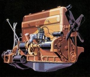 Straight 8 Engines
