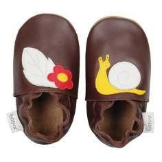 Bobux soft soles chocolate snail