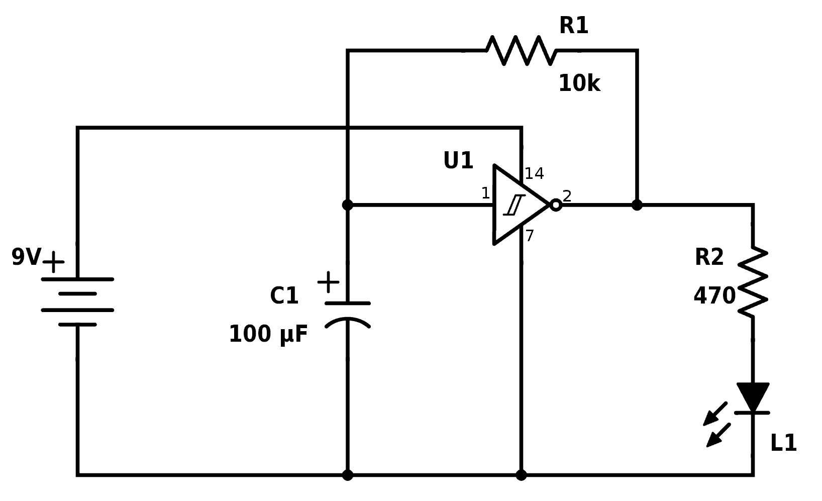 Circuit Diagram Led Torch