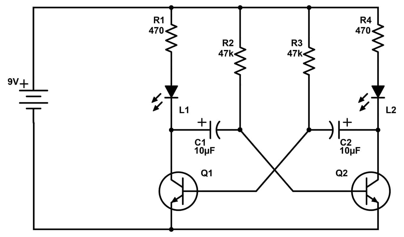 Wrg 2 Led Circuit Diagram