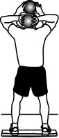 Medicine Ball Exercises: Standing/Seated Triceps Extension