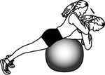 Stability Ball Exercises: Back Extension