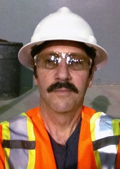 Michael e. Stern in saftey gear