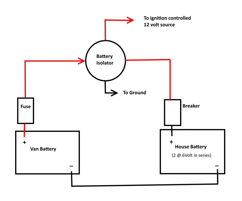 12 Volt Charging System Diagram
