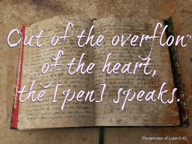 Journaling: Letting the Overflow of Your Heart Speak Through Your Pen