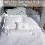 Diy Canopy Doll Bed It S Done