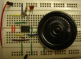 Sound generator and Musical toy organ