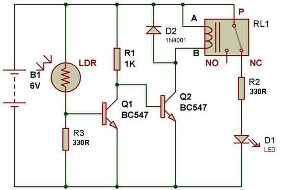 How to use a relay | BuildCircuit COM