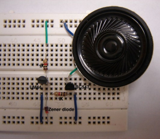 Electronic Bell Circuit Schematic