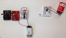 How to make a digital object counter using, infrared sensor, CD4026 and seven segment display