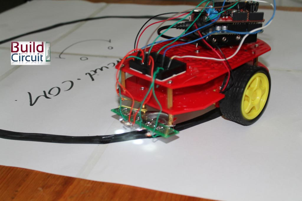 Easy steps for making a line following robot using Infrared