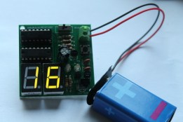 infrared based digital object counter (27)