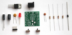 Breadboard power supply- components