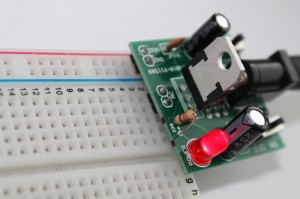 Step 14- 3 Powering up the breadboard power supply - Copy