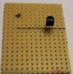 step 1- solder S9018(Q1) transistor