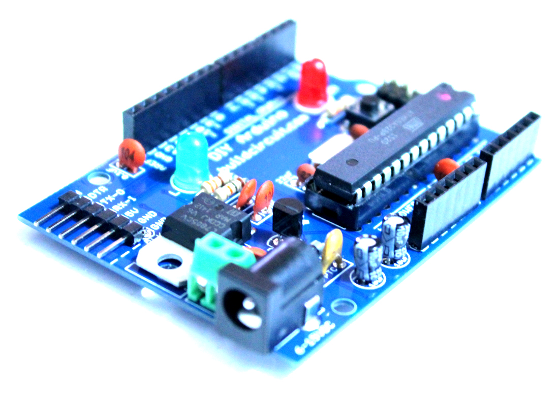 DIY Arduino Kit- How to Make your own Arduino UNO