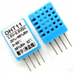 Arduino and AM2302 (DHT22) on a Mini Breadboard