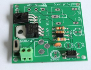 Step 6- solder SPDT switch and 2 pin screw terminal