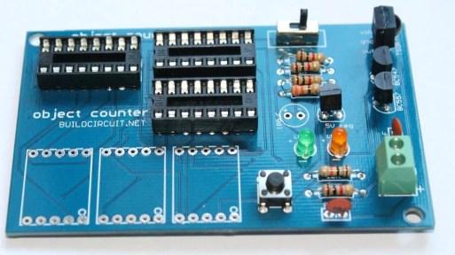 Step 12- solder 3pcs 16 pin DIL sockets