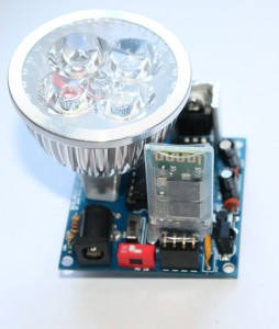 Step 18- Fix a Bluetooth module over the 4 pin female header