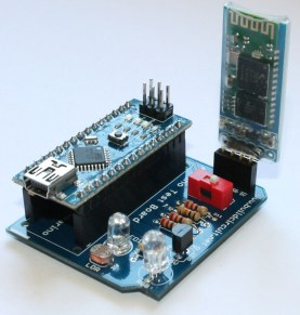 Step 11- Fix Arduino Nano and Bluetooth Module