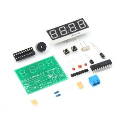 How to use C51 4 Bits Digital Electronic Clock DIY Kit