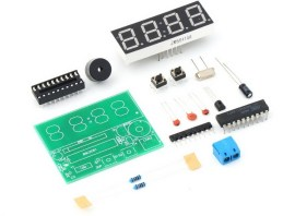DIY KIT 59- How to assemble DIY digital clock kit ?
