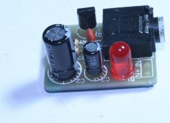 How to assemble infrared transmitter for infrared receiver DIY kit