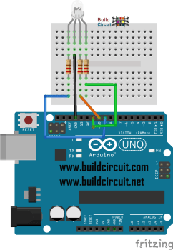 Arduino Project 8- RGB LED control