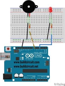 Project Arduino 29-ARDUINO SIREN ALARM