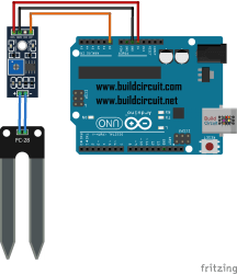Arduino Project 19- Moisture sensor project