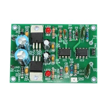 DIY KIT 36- NE555 and uA741 based monostable trigger learning kit