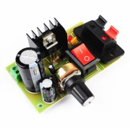 DIY KIT 35- LM317 based adjustable power supply