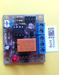 DIY KIT 43- LM393 based light operated switch with relay