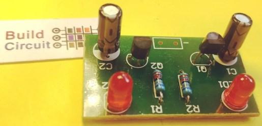 Step 4 Solder 2pcs capacitors