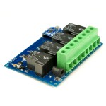 TSRU430- 4 Channel 30A USB Relay Board