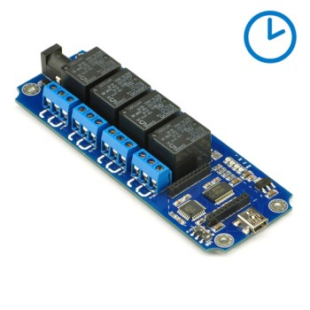 TOSR04-D - 4 Channel USB/Wireless 5V Timer Relay Module