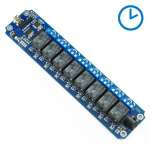 TOSR08-D - 8 Channel USB/Wireless 5V Timer Relay Module