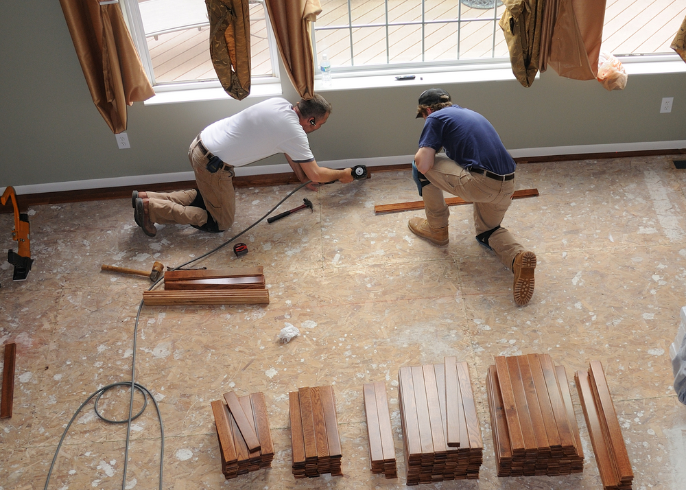 how to prepare a wood sub floor