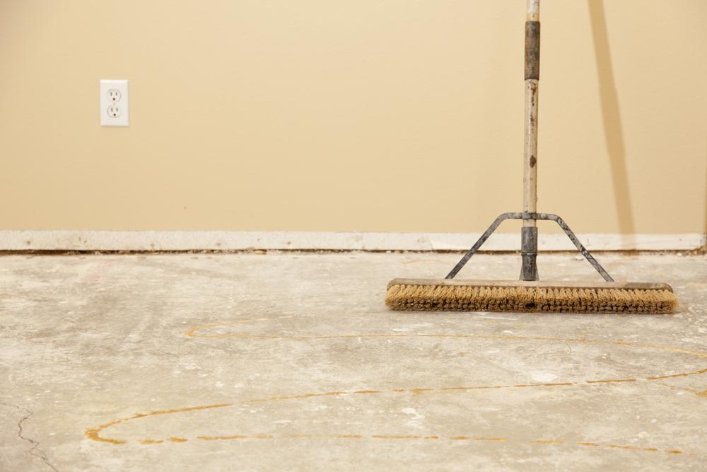 how to prepare a cork flooring