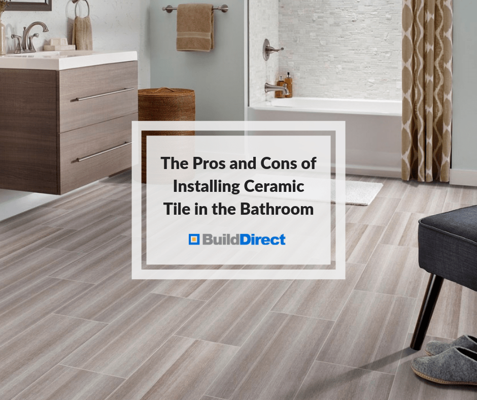 The Pros And Cons Of Installing Ceramic Tile In The Bathroom Learning Centerlearning Center