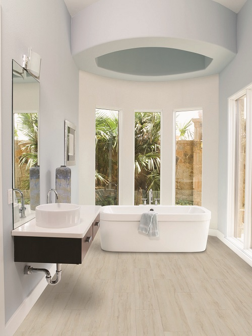 the best bathroom flooring options