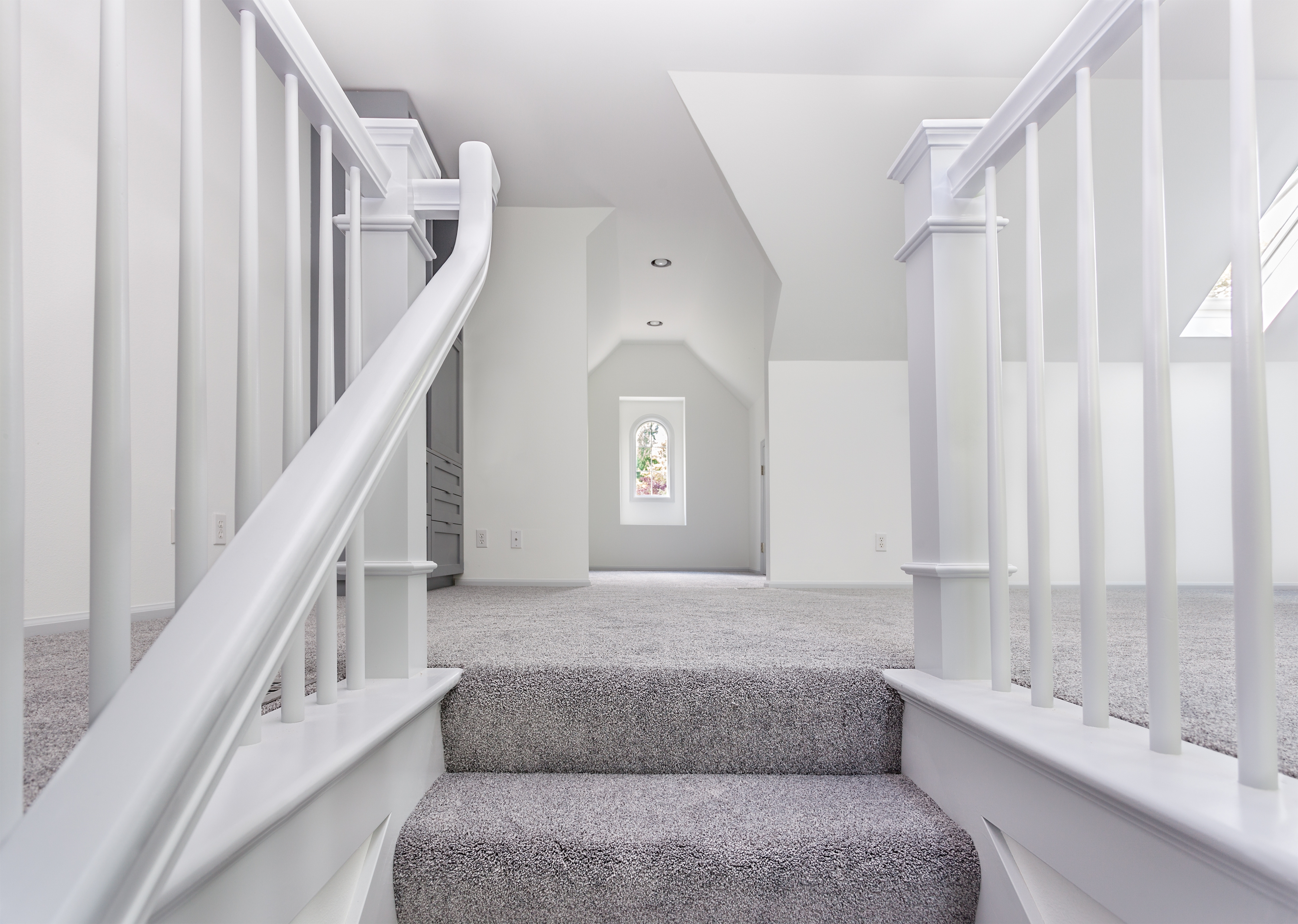 How To Lay Carpet On Stairs And The Landing Builddirectlearning | Fitting Carpet To Open Tread Stairs | Landing | Floating Staircase | Stairway | Hardwood | Prefinished Stair