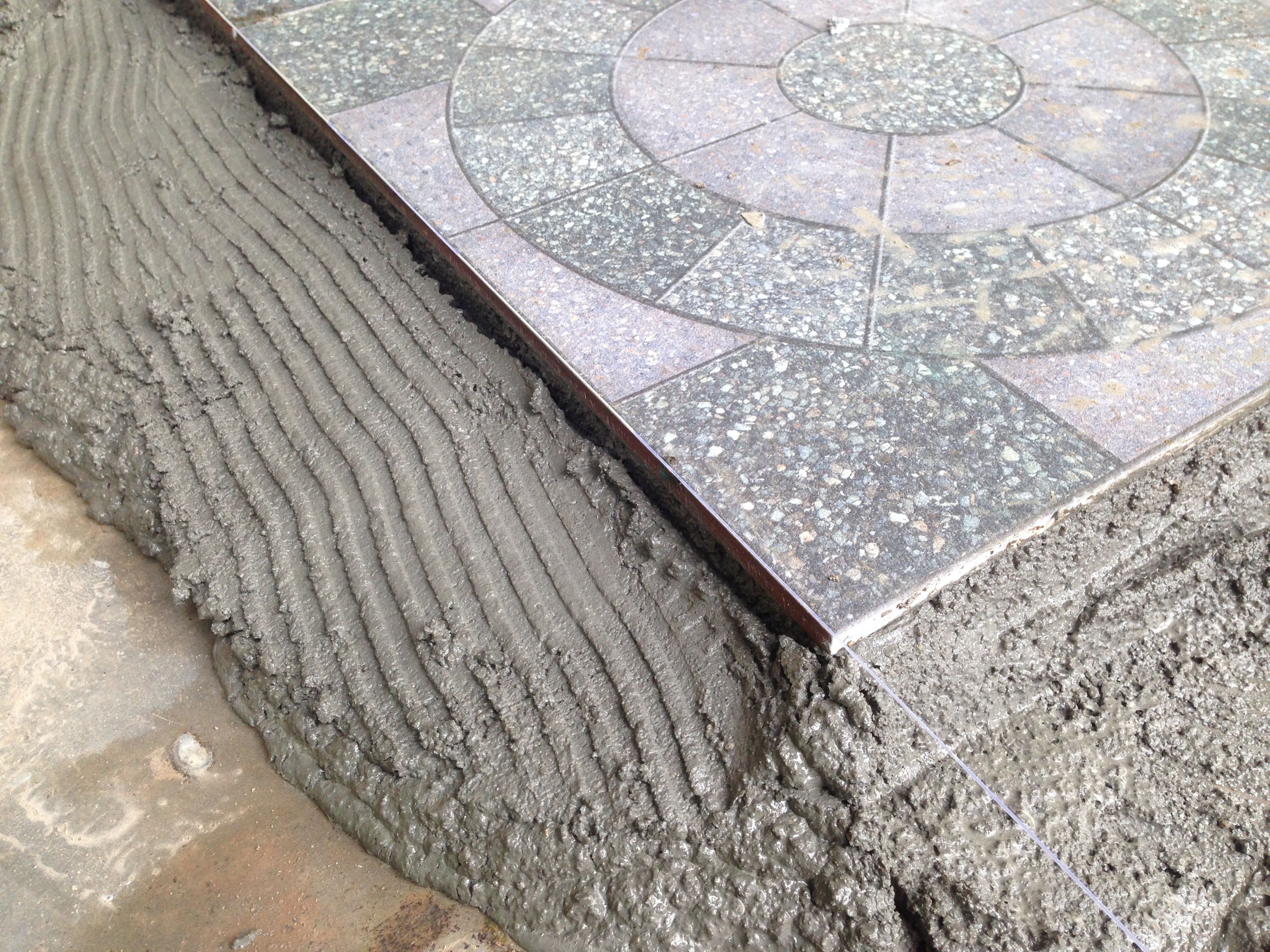 granite tile installation pro or diy